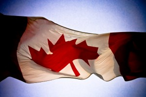 photo of the Canadian flag