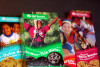 Photo of Girl Scout cookie boxes