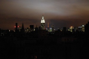 Photo of New York City during blackout